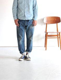 ordinary fits 5POCKET ANKLE DENIM ankle denim USED