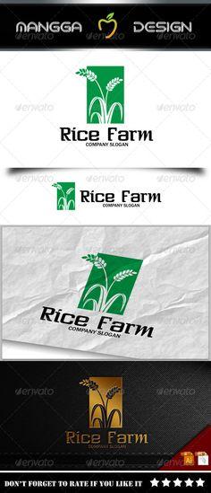 Rice - Logo Design Template Vector #logotype Download it here: http://graphicriver.net/item/rice-logo/8231691?s_rank=814?ref=nexion
