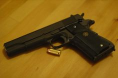 Colt with Pachmayr M1911a1, Hand Guns, Firearms, Pistols