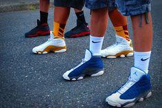 Air Jordan XIII  Flint, Wheat, Bred