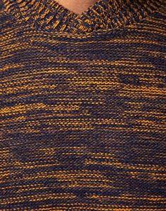 Shawl neck jumper by ASOS.