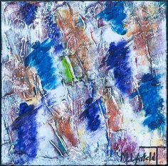 NEW PAINTING !  Mini Abstracts XXVI  30x30 cm  My website:   #art #paintings #artbylonfeldt