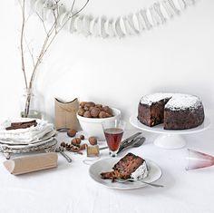 Pratos e Travessas: Christmas cake and other xmas recipes