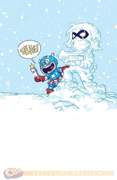 Bucky Barnes: The Winter Soldier #1 - Captain America by Skottie Young