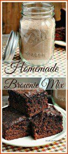 Nesting Skills - Make Your Own Brownie Mix - A Cultivated Nest