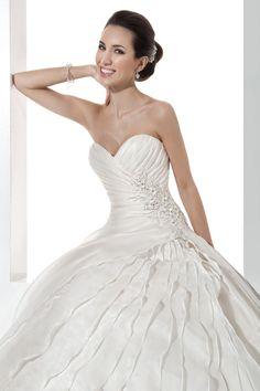 Illusions by Demetrios gown #wedding #dress #weddingdream123