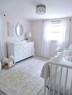 classic white nursery decorations gender neutral nurseries