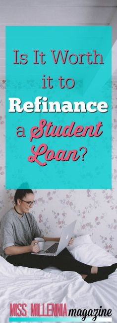 Is It Worth it to Refinance a Student Loan? If you are wondering if you should refinance a student l Best Student Loans, Federal Student Loans, Paying Off Student Loans, Student Loan Debt, Student Loan Refinance, Private Loans, Private Student Loan, Home Renovation Loan, Student Loan Forgiveness