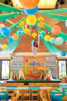 Boho Tribal 1st Birthday Party on Kara's Party Ideas | KarasPartyIdeas.com (27)