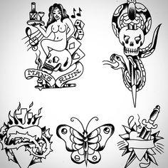 Vintage Tattoo Design, Traditional Tattoo Flash, Darwin, Tattoo Designs, Yellow, Collection, Instagram, Gold, Bug Art