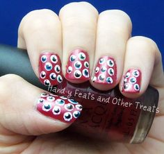 Hand-y Feats and Other Treats: 31 Day Challenge! Day 30: Inspired by a Tutorial