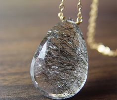 Rutilated Necklace