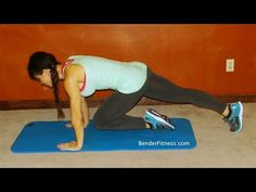 Melissa Bender Fitness: 5 Minute Core Workout