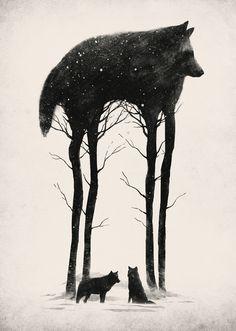 Standing Tall by Dan Burgess