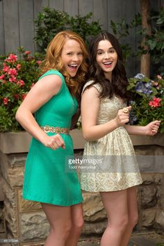 Family's 'Switched at Birth' stars Katie Leclerc as Daphne Vasquez and Vanessa Marano as Bay Kennish.
