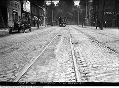 Toronto: Ossington north of Queen, 1920