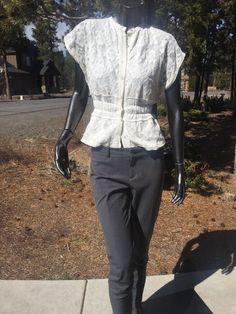 Women's Banana Republics Sloan Slim Ankle Cast Iron Pant Size 2 | eBay