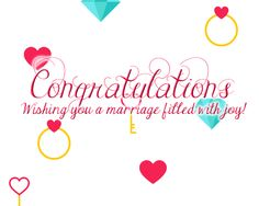 Send #congratulations to the wonderful couple on their #marriage ! #love #relationships #joy