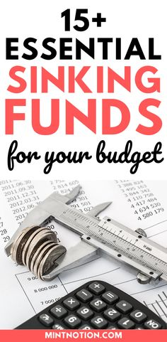Sinking funds categories you need in your budget. Here's a list of top sinking funds that can help you save money without having to dip into your emergency fund or go into debt. Includes printable sinking funds tracker to help you track and organize your savings. Sinking Funds, Life On A Budget, Debt Free Living, Paying Off Student Loans, 10 Essentials, Down Payment, Create A Budget, Frugal Living Tips, Love Your Life