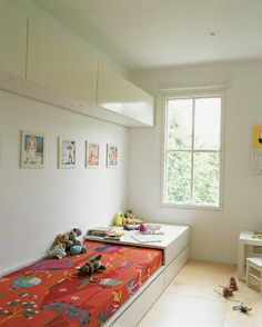 Children's room - Built in bed - Via AAM blog