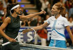 #GabrielaSabatini and #SteffiGraf, friend-enemies on #tennis court