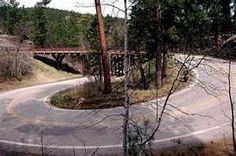 Bridgepixing the Pigtail Bridges in the Black Hills of South Dakota, along the Iron Mountain Road.