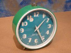 Reloj despertador antiguo Jerger