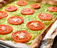 Pizza aux herbes | Betty Bossi