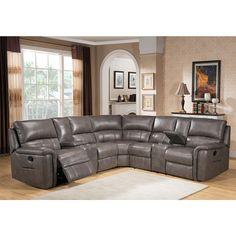 Modern Sofa Found it at Wayfair Sacramento Leather Sectional