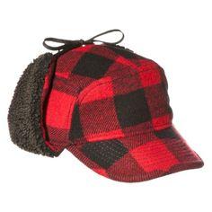 Men's Tie-Up Hat - Red