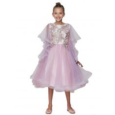 94688e92ec2 New Arrival Dresses   Outfits - Sophia s Style. Little Girls Lavender Tulle  Pearl Embroidered Flower Girl ...