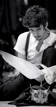 """Ben Whishaw in the original National Theater production of """"His Dark Materials"""" in 2004"""