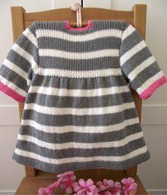 Knitting Pattern Baby Dress Happy Day Baby Dress baby girl
