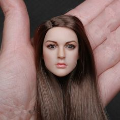 """38.94$  Buy now - """"1:6 Scale Beautiful Head Model  KT005 KIMI Female Head Sculpt Caving 12"""""""" Fit For  Action Figure Dolls F""""  #buychinaproducts"""