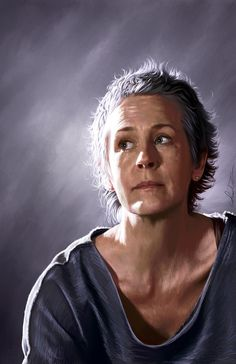 The Walking Dead Portraits - Created by Amanda Tolleson Available for sale at her Etsy Shop.
