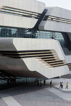 Pierresvives, Montpellier, France by Zaha Hadid Architects. Photograph © Iwan Baan.