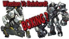 Overwatch: Reinhardt VS Winston Boxing Match