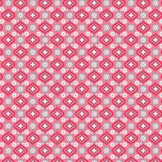 Quiltstoffen Katoen - Ornamenten Roze