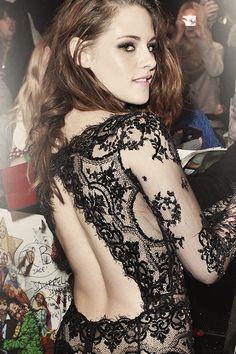 WOW!!!  Kristen is so beautiful