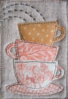 PatchworkPottery: Mug Rugs                                                                                                                                                     More
