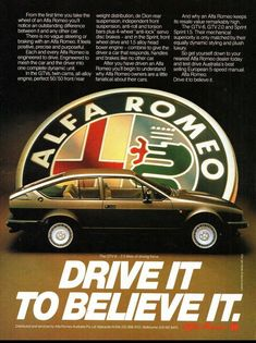Alfa Romeo's Sports Sedan is a Future Classic: HagertyThe 2017 Alfa Romeo Giulia Quadrifoglio has Alfa Gtv, Alfa Alfa, Alfa Cars, Alfa Romeo Cars, Alfa Romeo Gtv6, Alfa Romeo Giulia, Camaro Car, Chevrolet Camaro, Sports Sedan