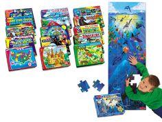 Classroom Floor Puzzles - Complete Set