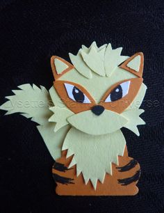 Gotta Craft Them All challenge dag 61: #Arcanine #Pokemon https://www.facebook.com/Lysettes.stampin.universe/?ref=page_internal