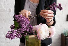 bouquet de printemps Flowers girls via Nat et nature