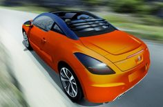 Magna Steyr to Unveil Peugeot RCZ Concept in Geneva (2013) Contract Manufacturer, Girly Car, Steyr, Geneva Motor Show, Concept Cars, Peugeot, Convertible, Automobile, Vehicles