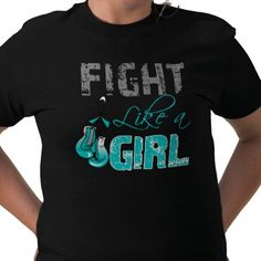 Cervical cancer awareness shirt.