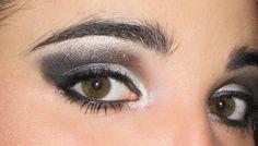 Tutorial make up: smokey grigio argento e nero