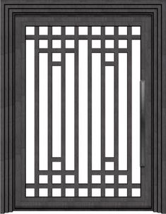 Pivot Doors - WRIGHT design - to replace front french doors Iron Window Grill, Window Grill Design Modern, Window Design, Wooden Front Door Design, Door Gate Design, House Front Design, Grill Gate Design, Balcony Grill Design, Interior Stair Railing