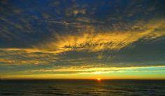 Sonnenaufgang an der Costa del Azahar