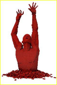 Sculture di Lego d'artista: Nathan Sawaya - Tweedot blog
